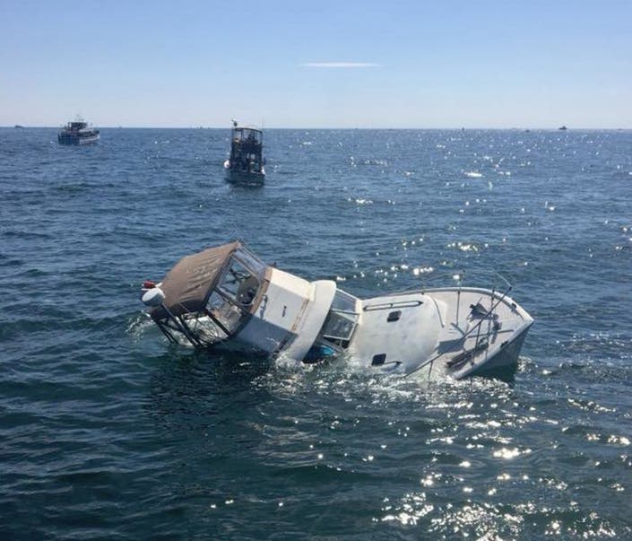7 Saved From Sinking Boat Off Montauk Point: Coast Guard