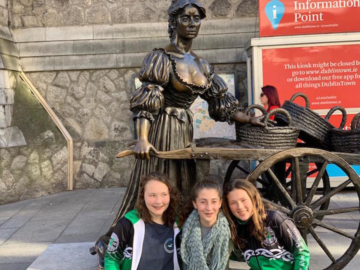 Dream Come True: Girls 'Step Off To Dublin' For Dance