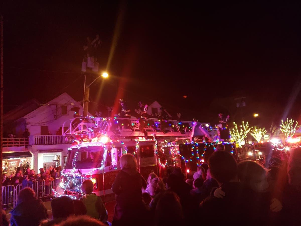 Christmas Magic Lights Night In Southampton