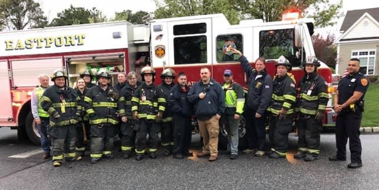 9 Baby Ducks Rescued From Storm Drain By Firefighters