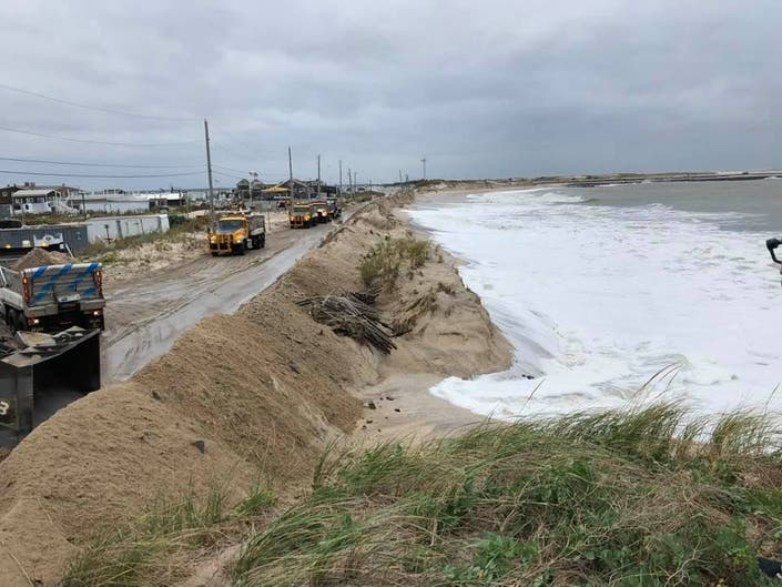 After Severe Flooding, State Of Emergency Remains On Dune Road