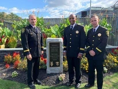 Sheriff Dedicates Monument To K-9 Familys Faithful Service