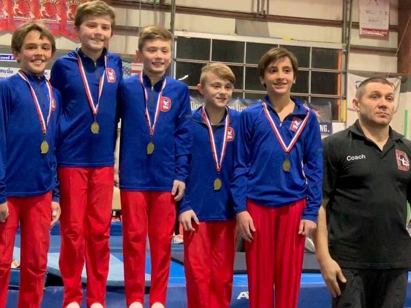 Darien YMCA Boys Gymnastics Team Shines at States