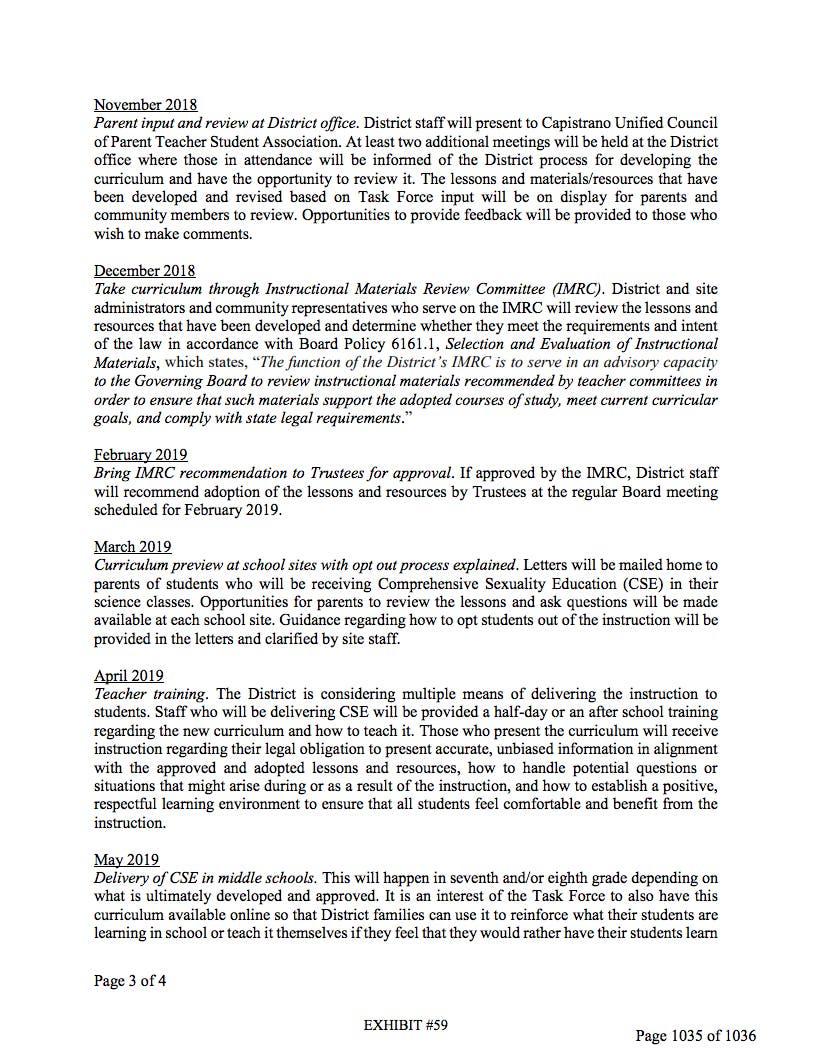 CUSD to Discuss Controversial Sex Ed Curriculum | San Juan