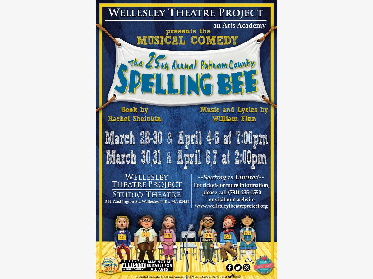 The 25th Annual Putnam County Spelling Bee Presented by WTP