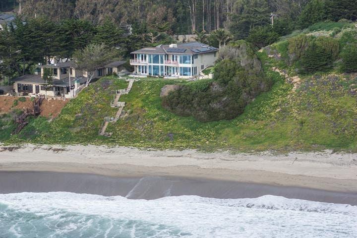 Luxurious Watsonville Beach House Offers Ocean Views