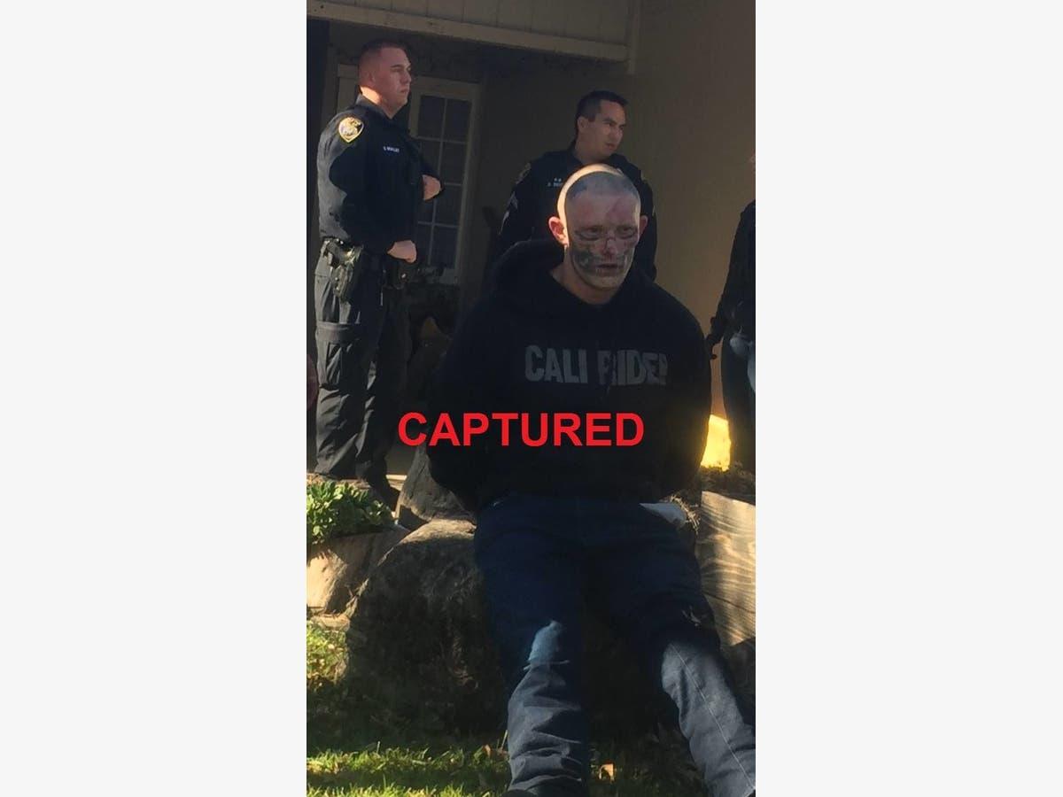 e1df54b63f527 Escaped Calif. Inmate With Skull Tattoo Captured | Elk Grove, CA Patch