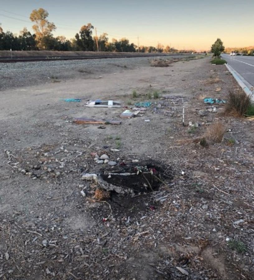 Memorial At Double Fatal Crash Site In Livermore Vandalized