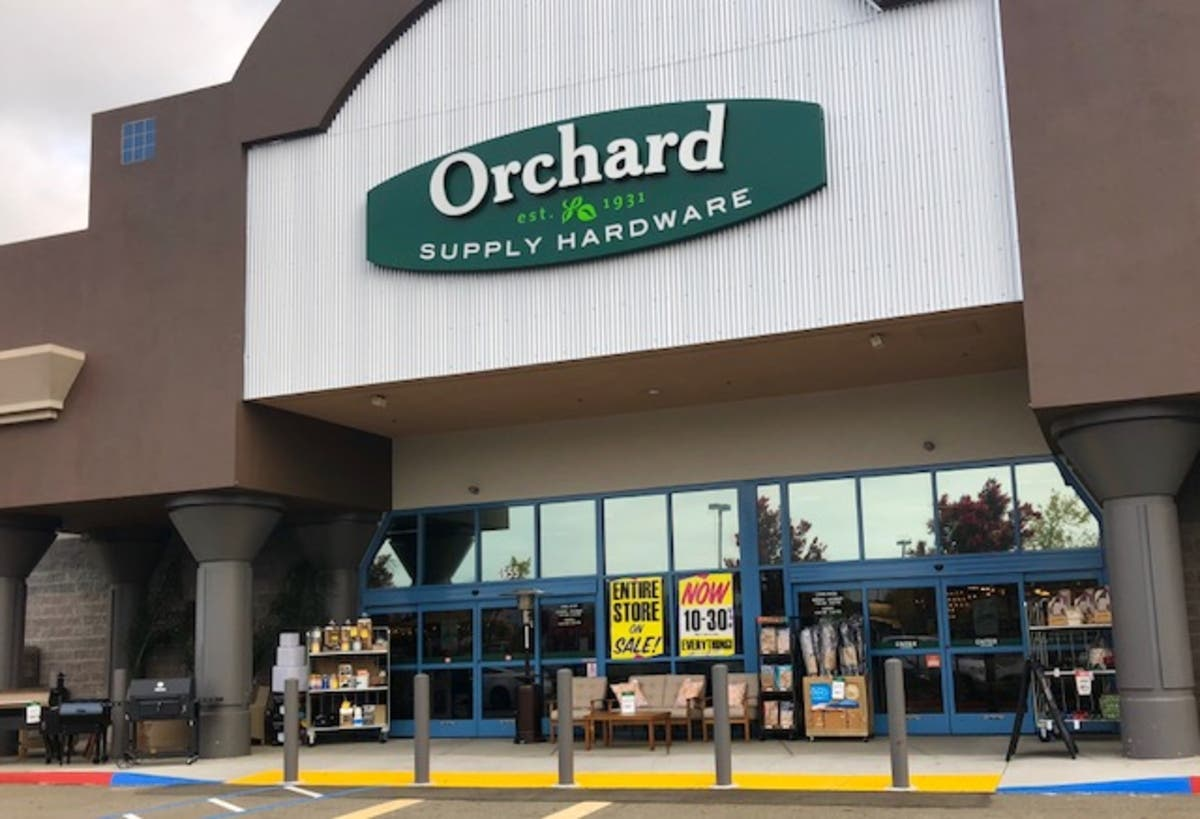 Orchard Supply Hardware Store Closing Sales Start In