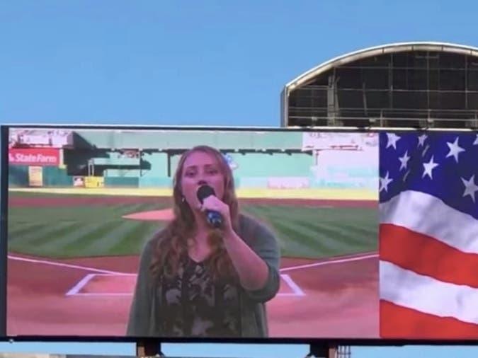 Teen Sings Anthem At As Game | Cat Rescued: Saturday Smiles