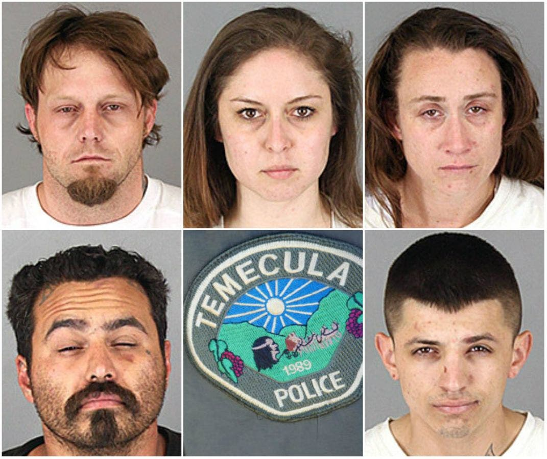 Stolen Mail, Passports, Credit Cards, Meth: Found in Temecula Hotel