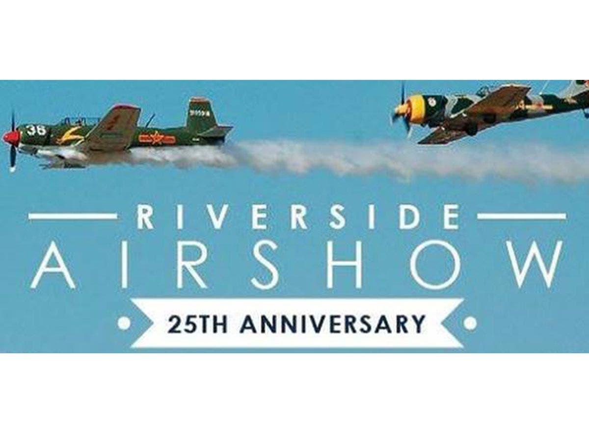 Riverside Air Show: Military Planes, Aerobatic Stunts and