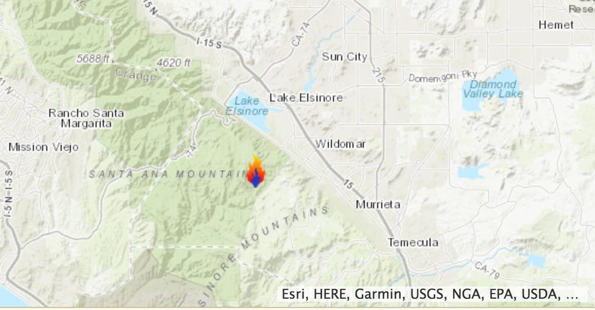 Wildomar Fire Latest 850 Acres Evacs Lifted Containment Grows