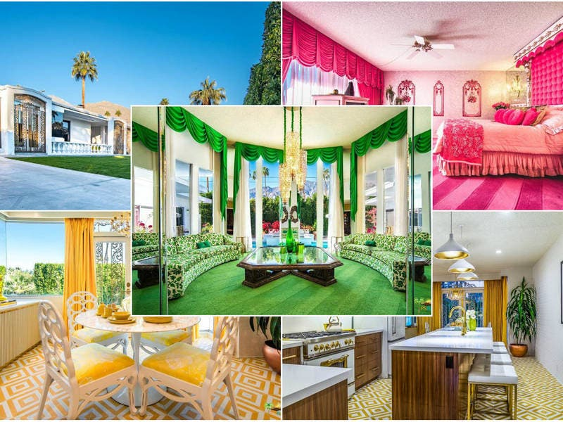 Amazing, Retro Time Capsule In Palm Springs Is Back For Sale