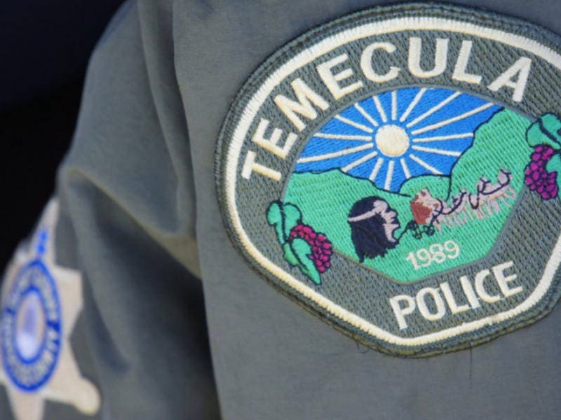 Police Chase Ends In Old Town Temecula, One Arrested