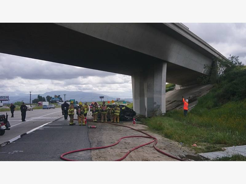 Fiery Wreck On I-15 Turns Deadly, Lanes Closed: CHP