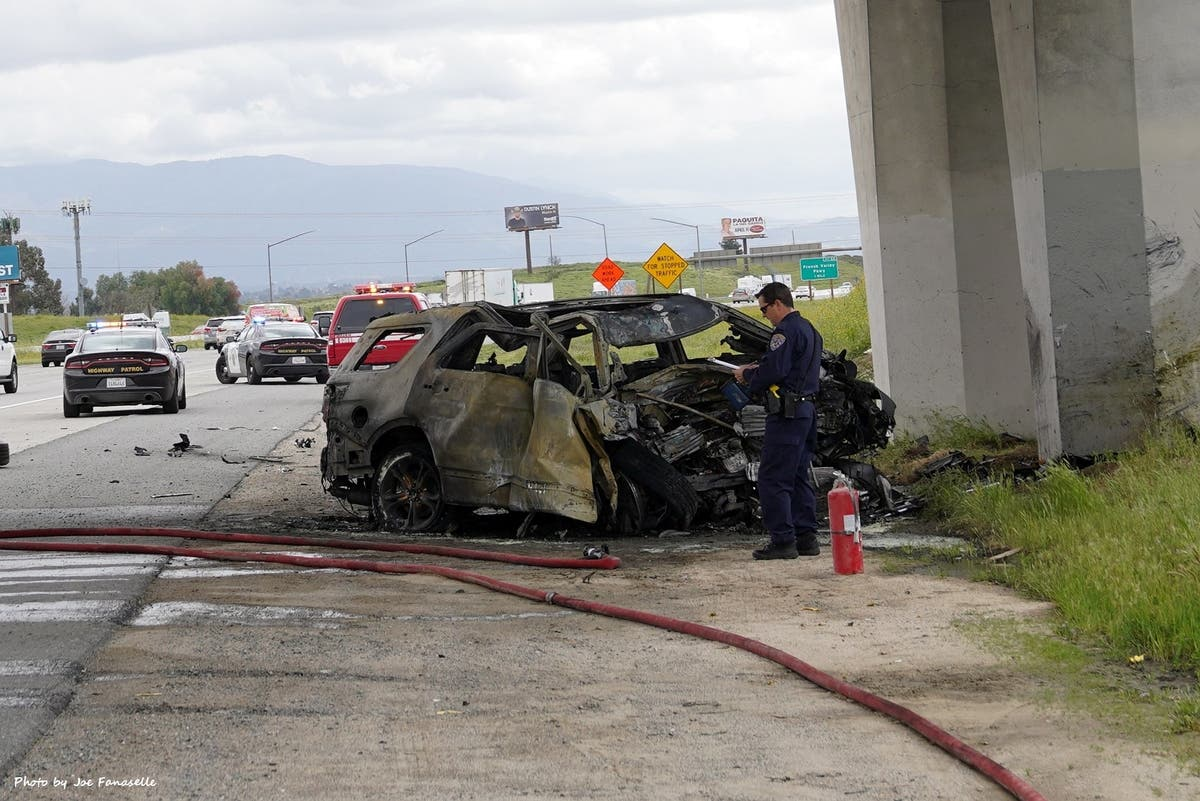 Deadly I-15 Wreck: Driver Slammed Into Pillar At 80 MPH, CHP Says