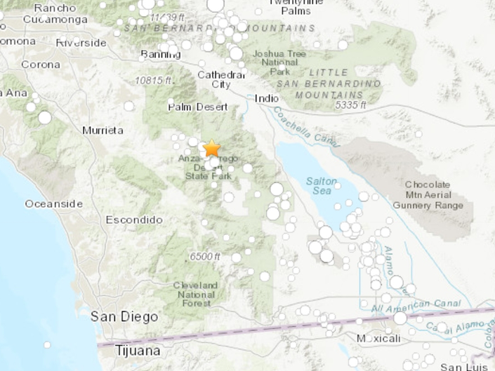 Earthquake Shakes East Of Temecula Valley, USGS Says