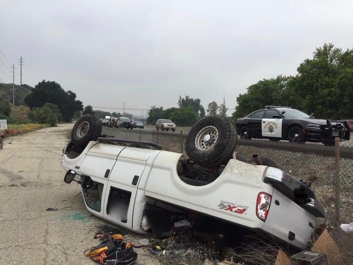 Woman Killed In Beaumont Rollover Wreck