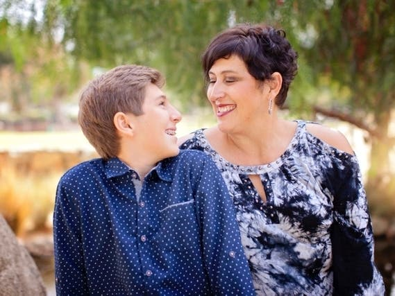 Love You To The Moon And Back: Temecula Mom, Son Photo