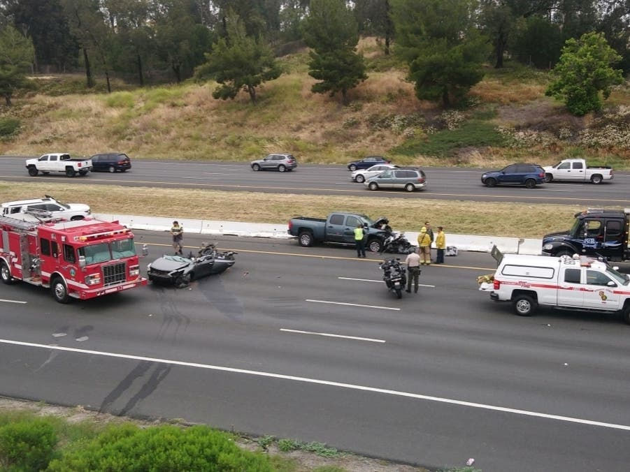 DUI Suspected In Deadly Temecula I-15, City Hall Wreck: CHP