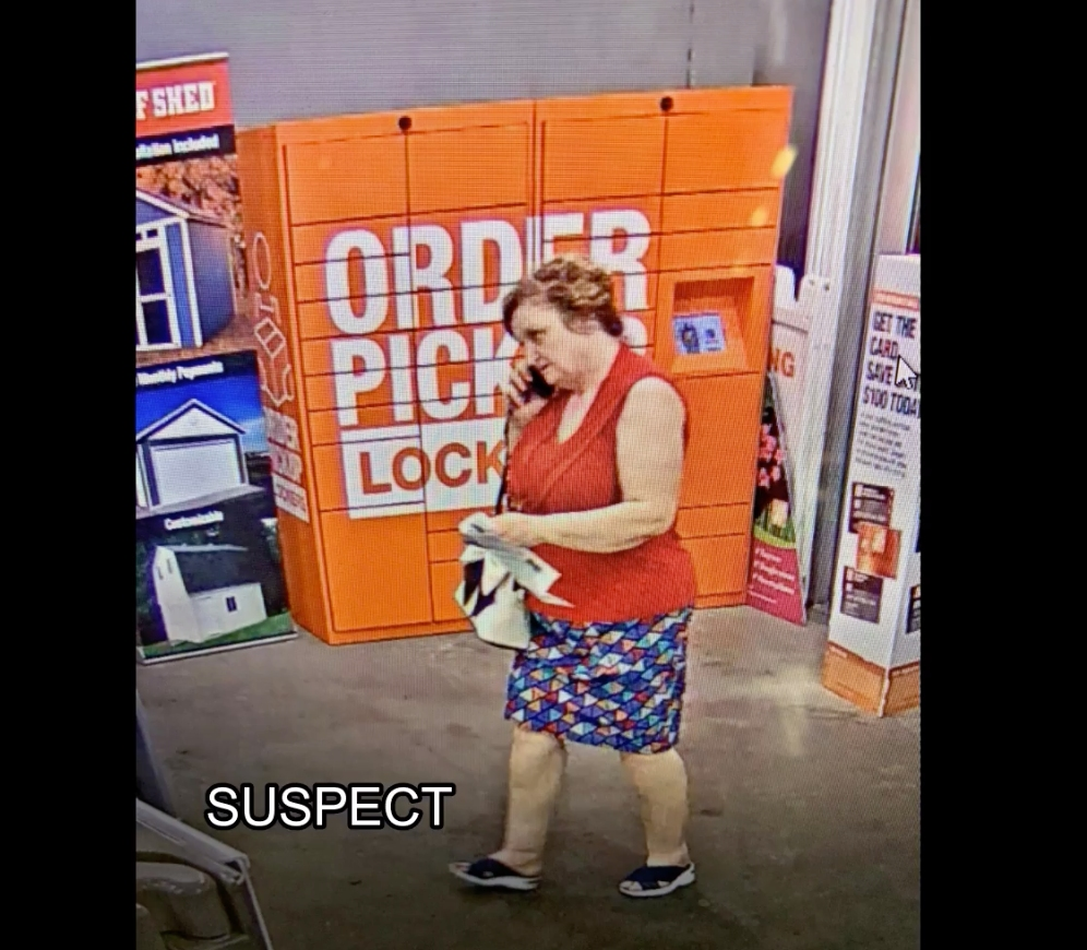 Beaumont Home Depot Thief Sought Video Banning Ca Patch