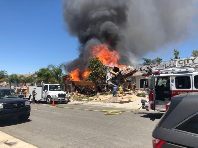 Murrieta Gas Explosion: 1 Dead, 15 Hurt In Large Blast