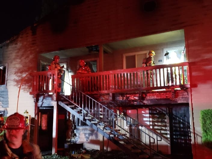 Temecula Apartment Fire Displaces Several Families