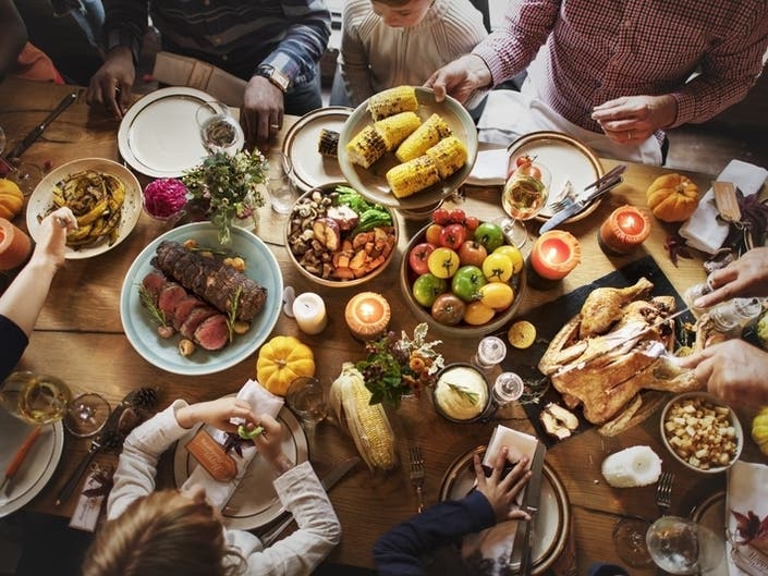 Thanksgiving Recipe Searches Reveal Californias Tastes