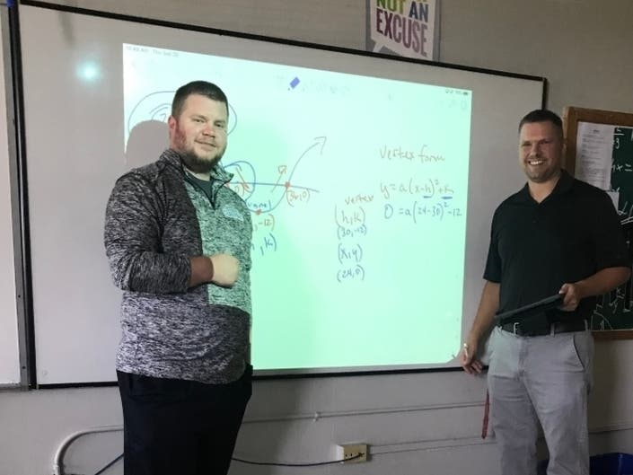 Teachers Collaborate for Roller Coaster Math Lesson
