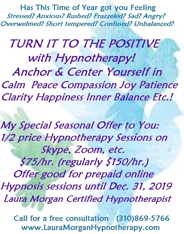Dec 5 | Release Stress 1/2 Price Online Hypnotherapy ...
