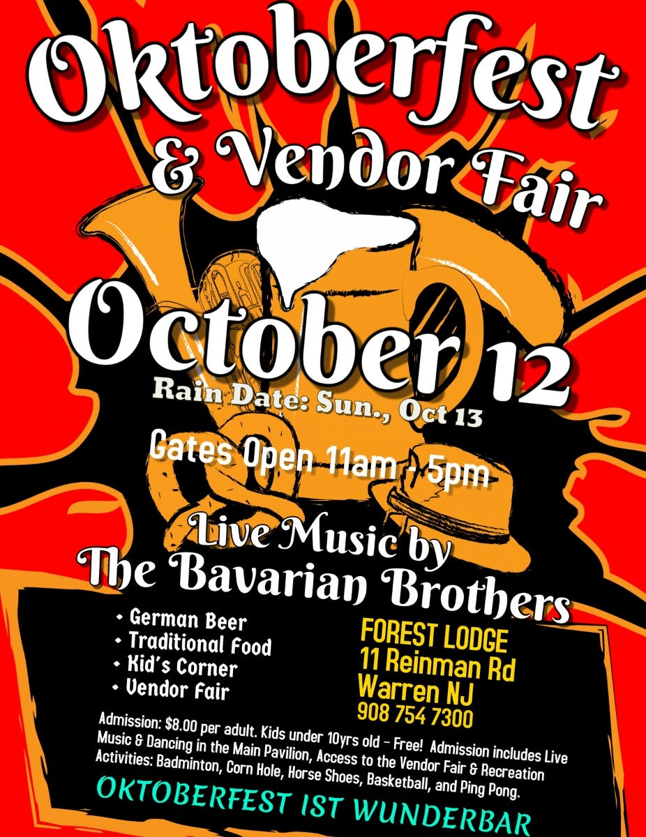 Oct 12 Nj S Best Oktoberfest Vendor Fair Warren Nj Patch