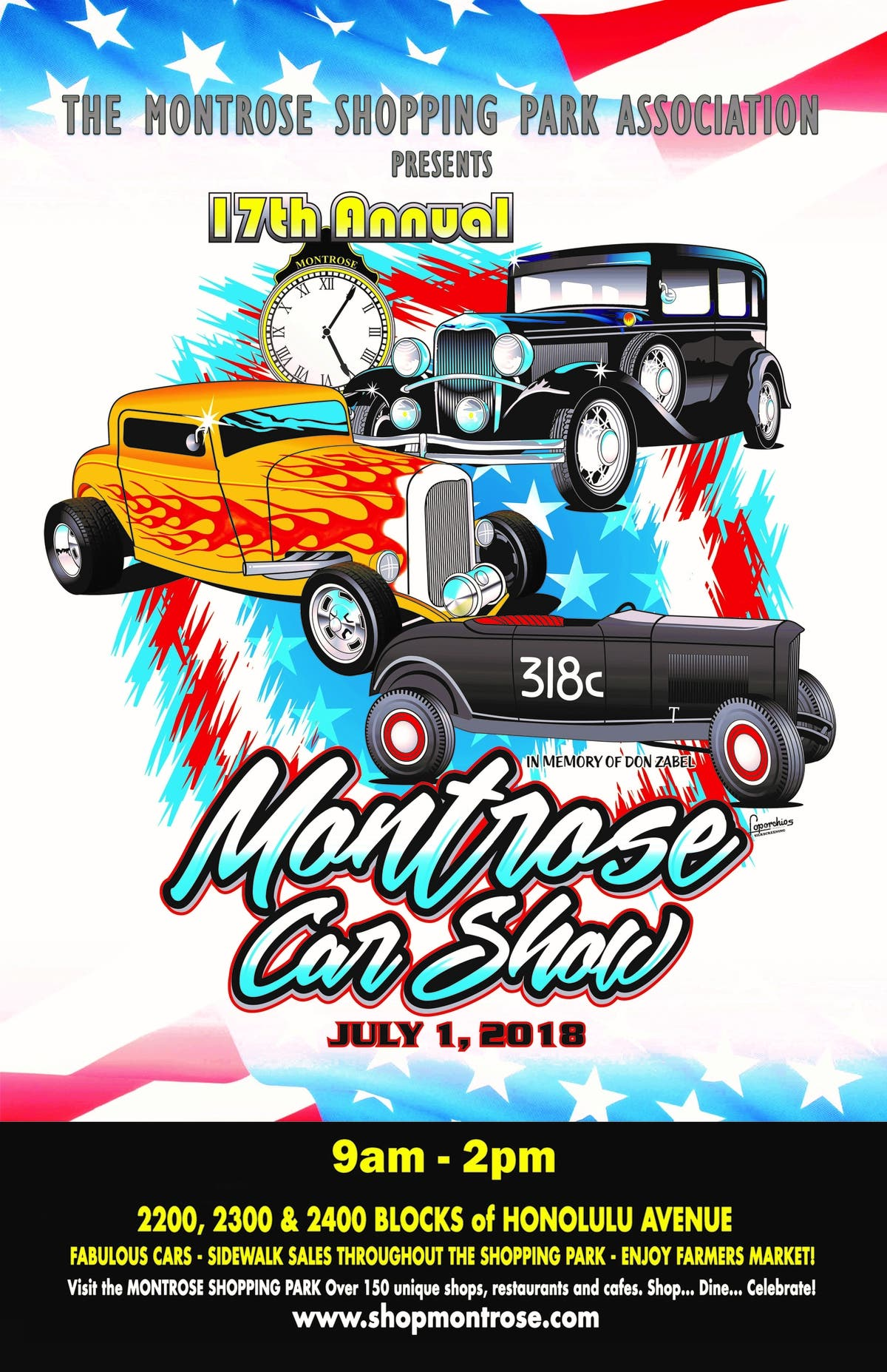 Th Annual Montrose Car Show This Sunday Montrose CA Patch - Car show paso robles 2018