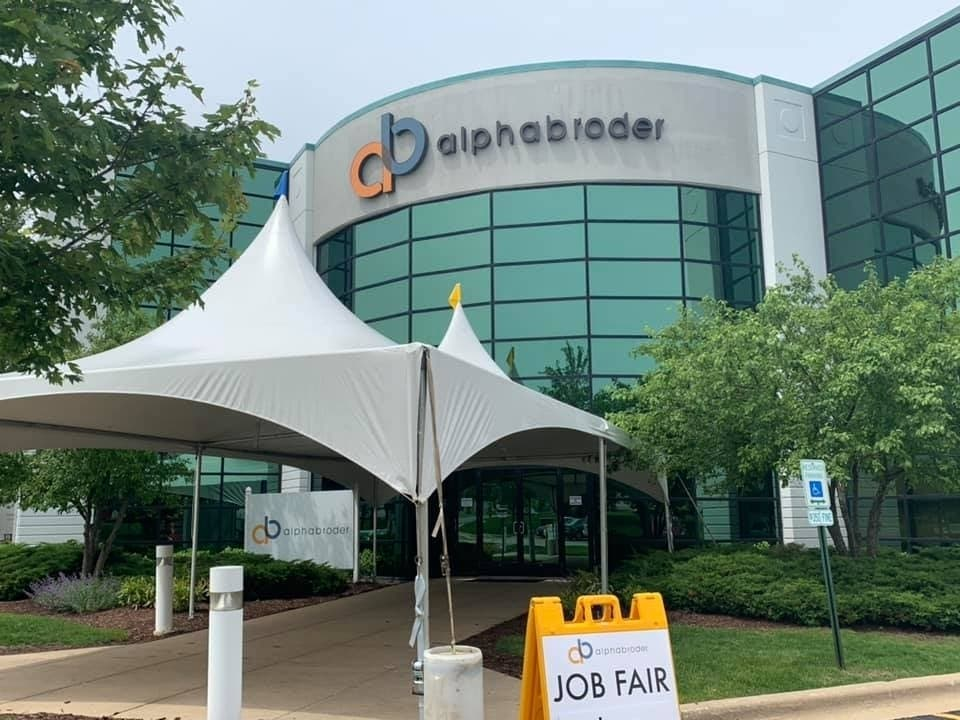 new product efdef 37eef Alphabroder Bolingbrook Hosts On-Site Job Fair Friday ...