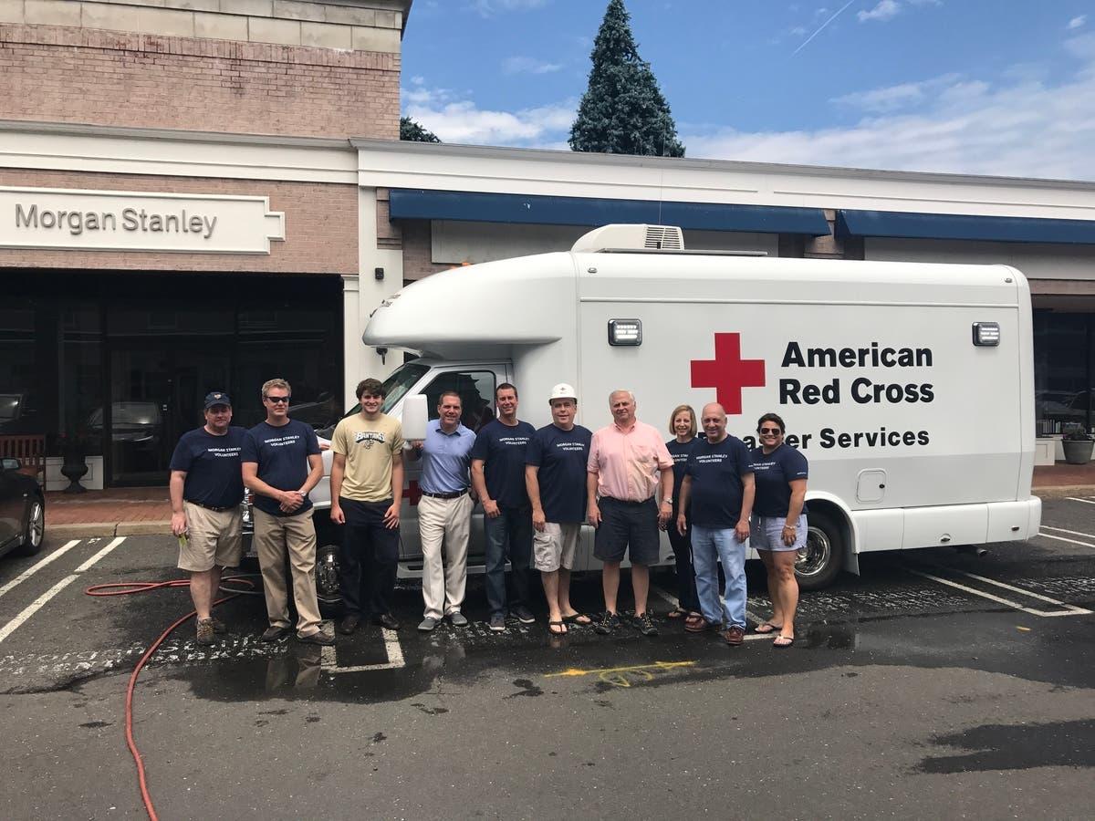 Morgan Stanley Volunteers for Red Cross   Fairfield, CT Patch