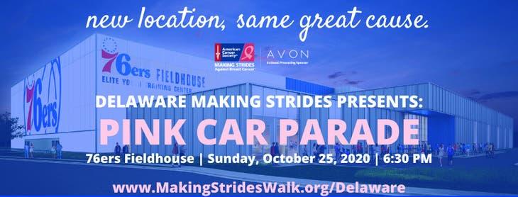 Making Strides Against Breast Cancer of Delaware Pink Car Parade
