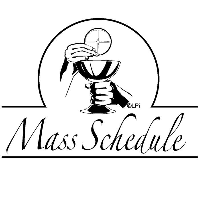 New Mass Schedule at St. Mary Nativity & Holy Cross Church