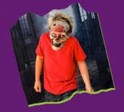 Mask-Making Workshop - ZOMBIE (Ages 8-10)