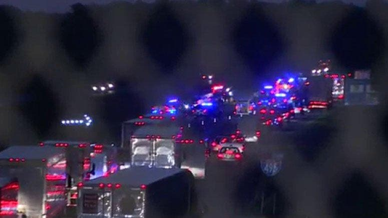 UPDATE: Two Dead in Wrong Way Crash on I-495 South in Mansfield