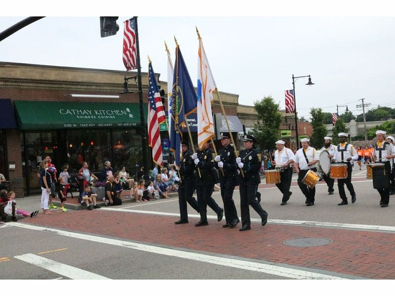 Cathay Kitchen Dedham | Photos Dedham Celebrates 50th Annual Flag Day Parade Dedham Ma Patch