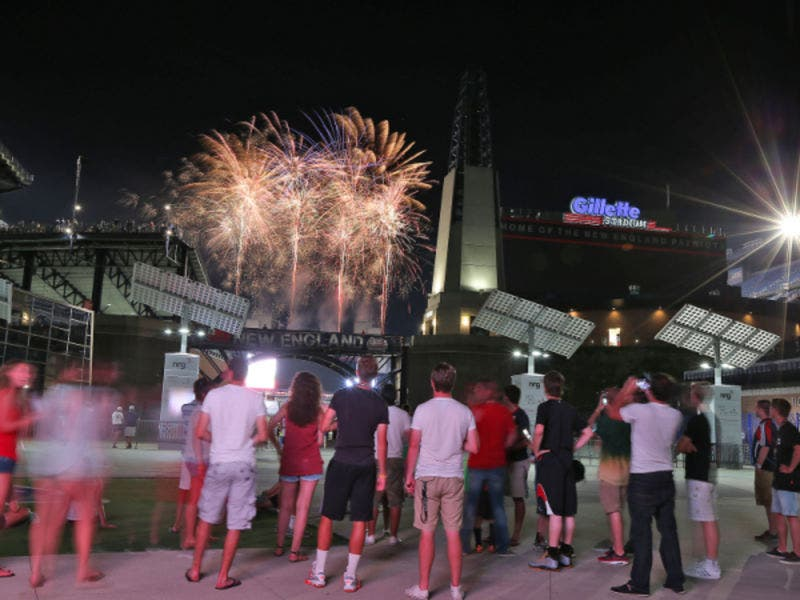 Gillette Stadium To Host 2017 4th Of July Fireworks Finish At The