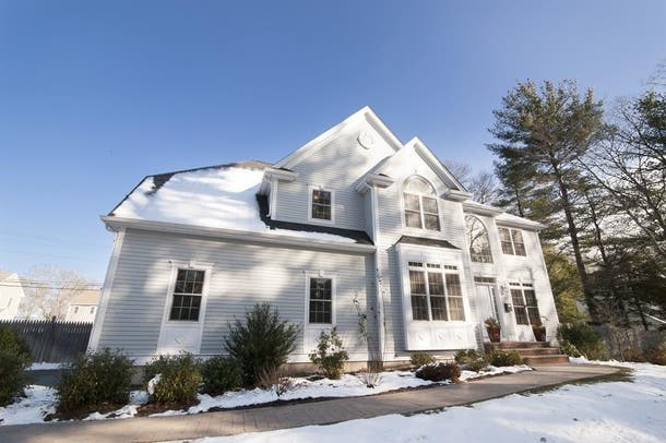 Wow House: A Corner Lot Down The Road From Needham Center ...