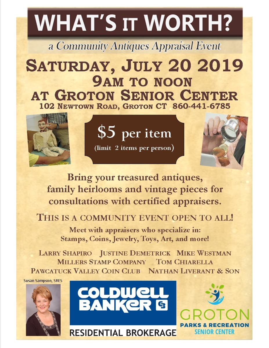 Whats It Worth >> Jul 20 What S It Worth Groton Ct Patch
