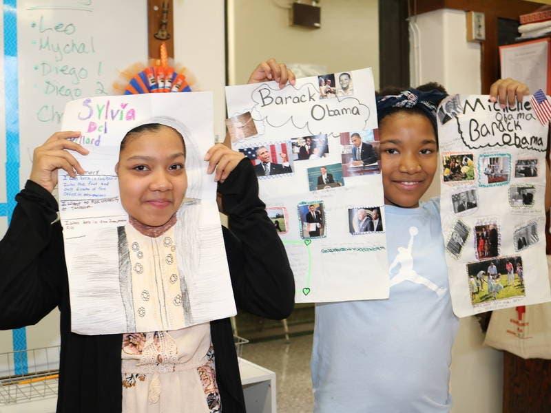 Joliet District 86 Schools Host Wax Museums
