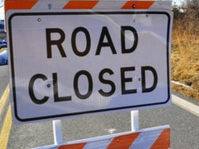 Accident Shuts Down Prospect Hill Road