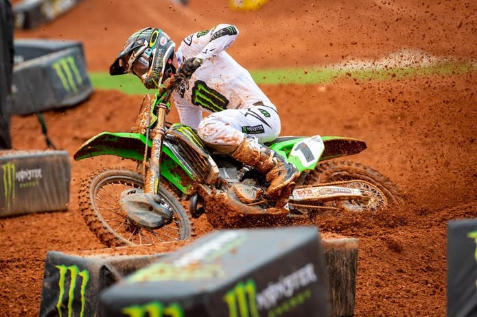Eli Tomac Wins First-ever Supercross At Atlanta Motor Speedway
