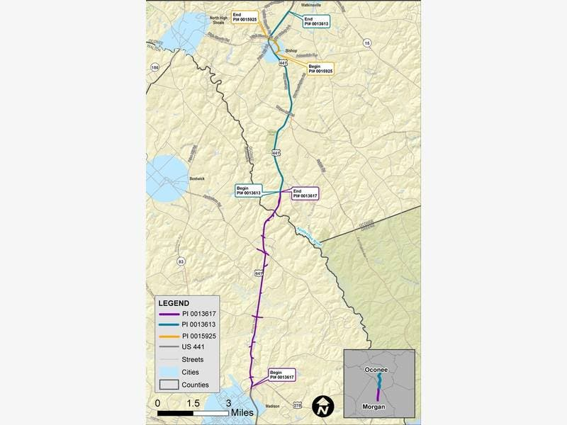 GDOT Announces Public Meetings On US 441 Widening & Bishop ...