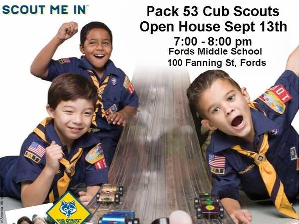 Sep 13 | Pack 53 Cub Scouts Open House | Woodbridge, NJ Patch
