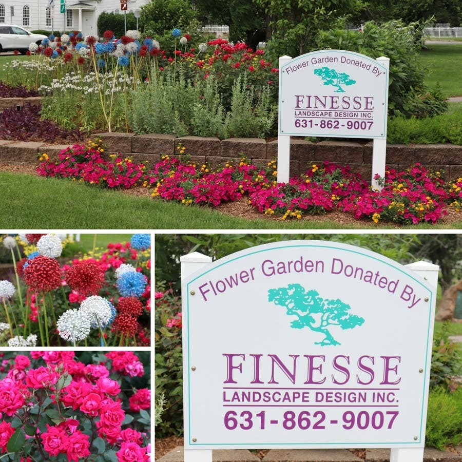 Finesse Landscape And Design, Inc. Provides Beautiful Garden At The  Smithtown Library