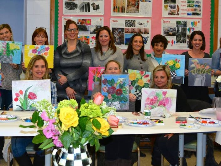 Ladies Night Out Sip & Paint Returns to DAC on April 24